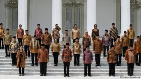 gambar pelantikan presiden jokowi